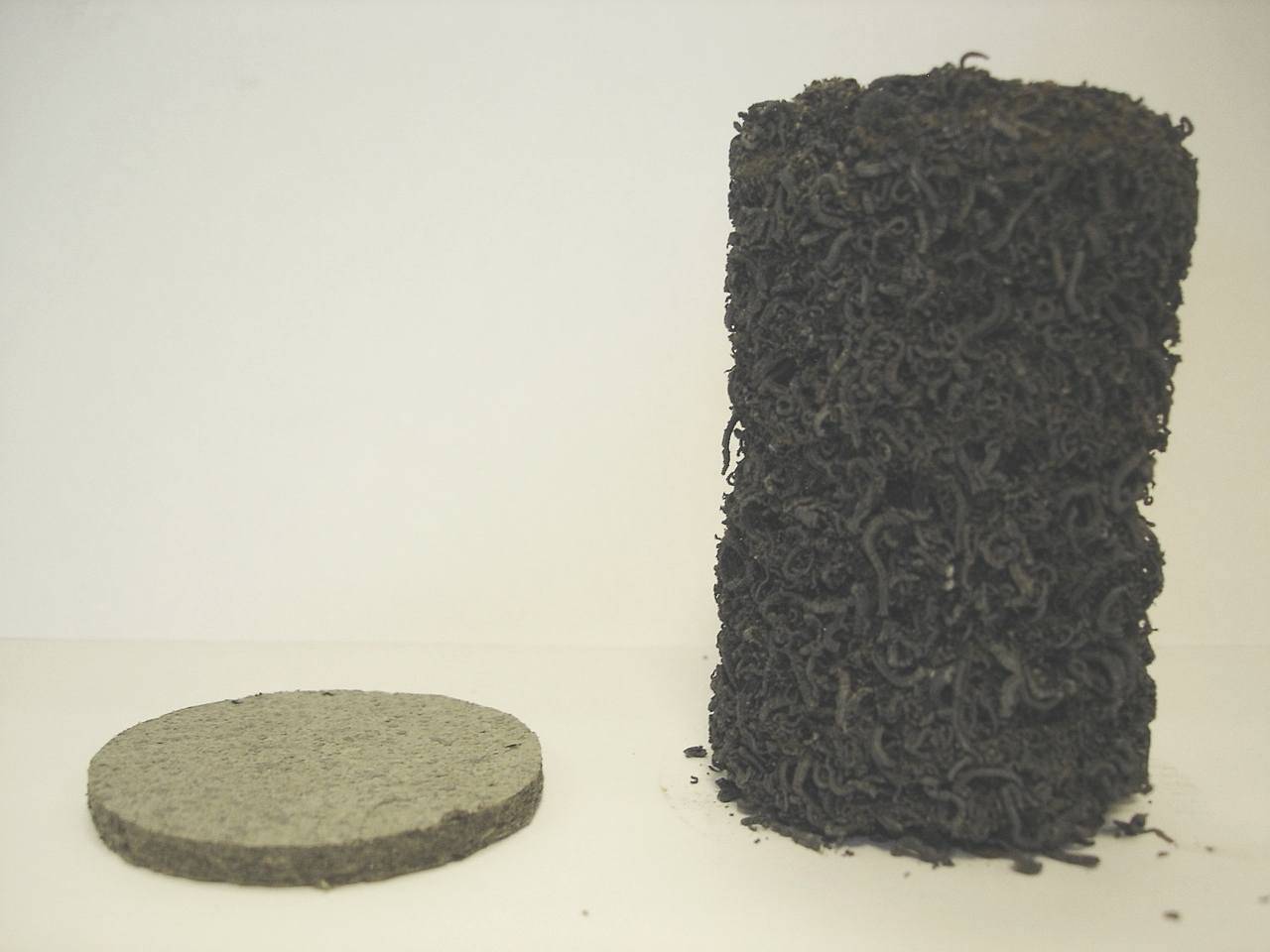 Expanded Firefly Intumescent Material
