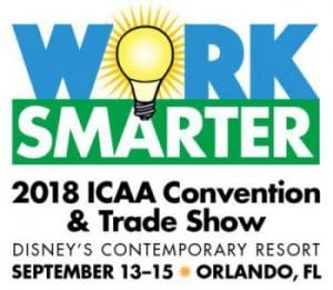 TENMAT exhibits at ICAA Convention 2018